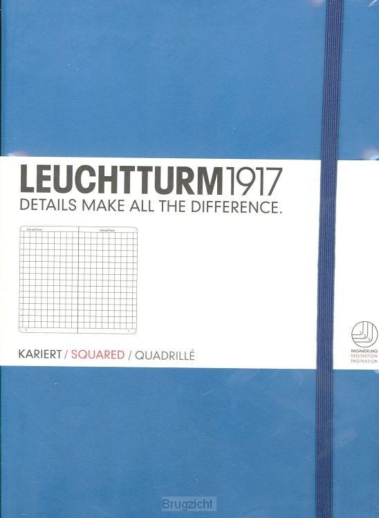 Notebook Medium nordic blue, squared