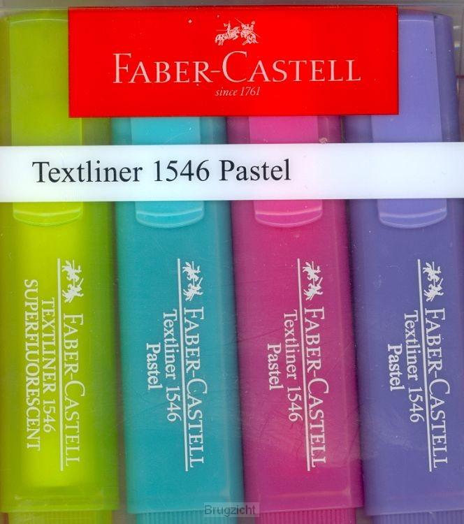 Textliner Pastel 4st