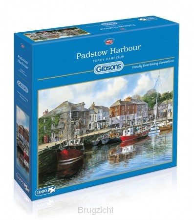 Puzzel Padstow harbour