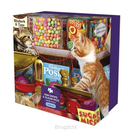 Puzzel Paw drops & sugar mice