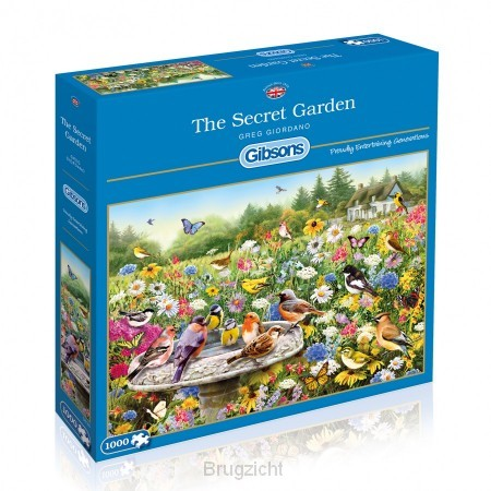Puzzel The Secret Garden 1000st.