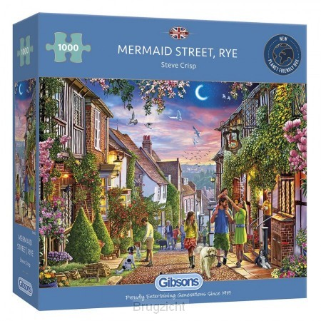 Puzzel Mermaid Street, Rye