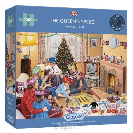 Puzzel The Queen's Speech