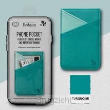 Bookaroo Phone Pocket - Turquoise