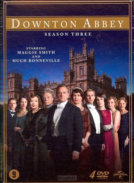 DVD Downton Abbey seizoen 3
