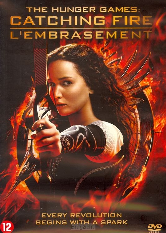 DVD Catching Fire ( Huhger Games dl.2)