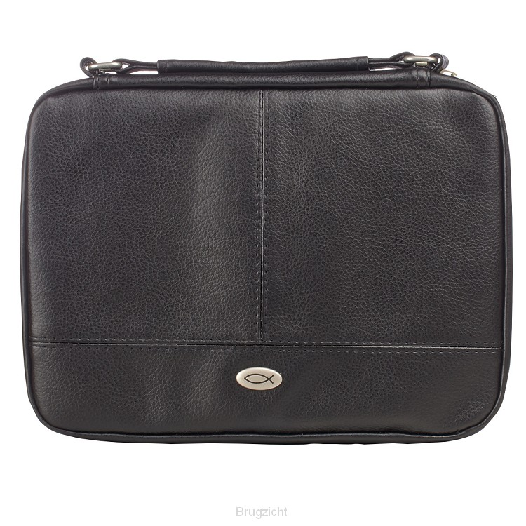 Two-fold lux leather organizer