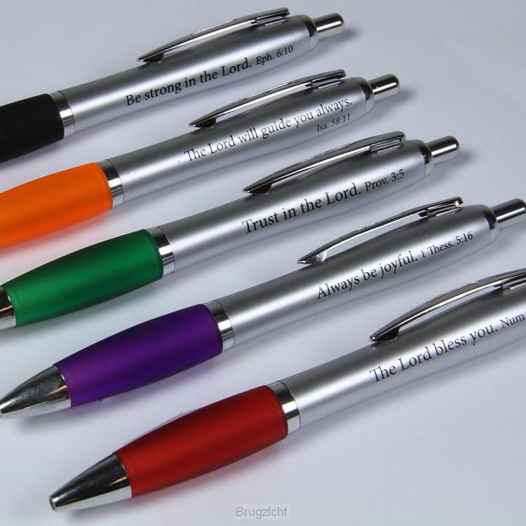 Matt silver pen - Assorted colors