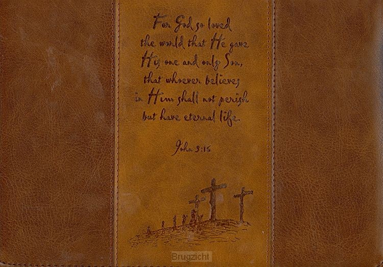 Bible cover Large  For God so loved the