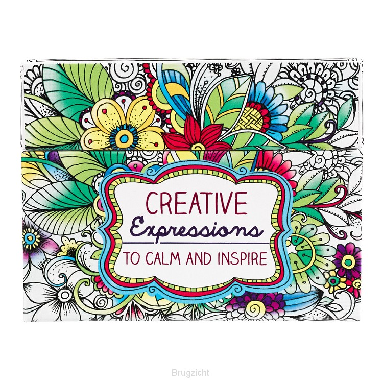 Coloring Cards Creative Expression