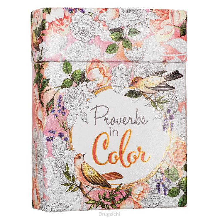 Boxed Coloring Cards Proverbs