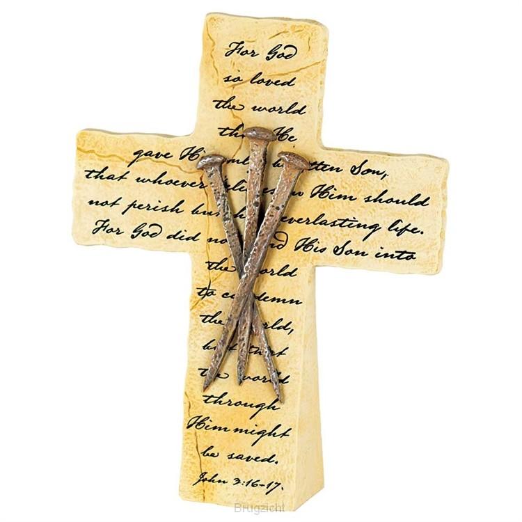 For God so loved - Nails - John 3:16