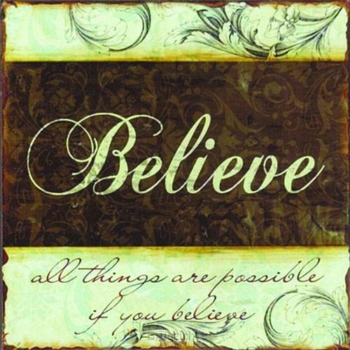 Believe (Eisenschild)