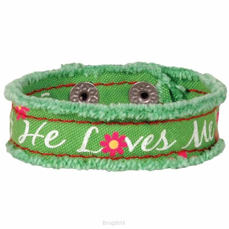 He loves me - Green