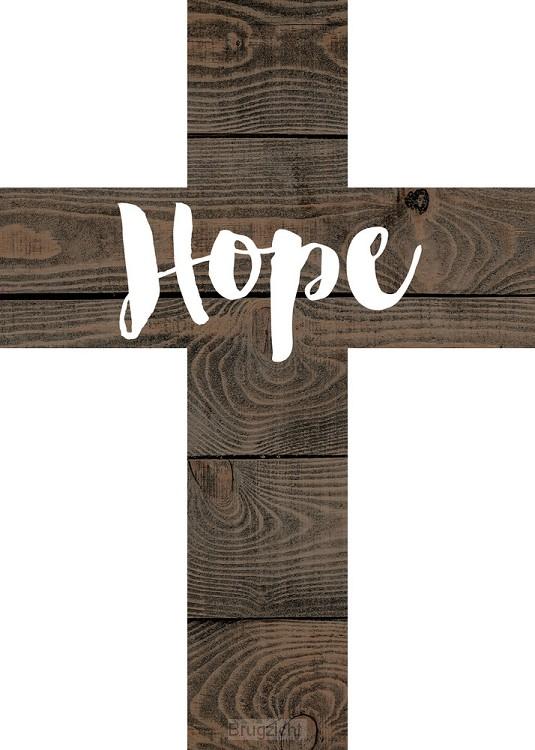 Hope - 12,5 x 17,5 cm