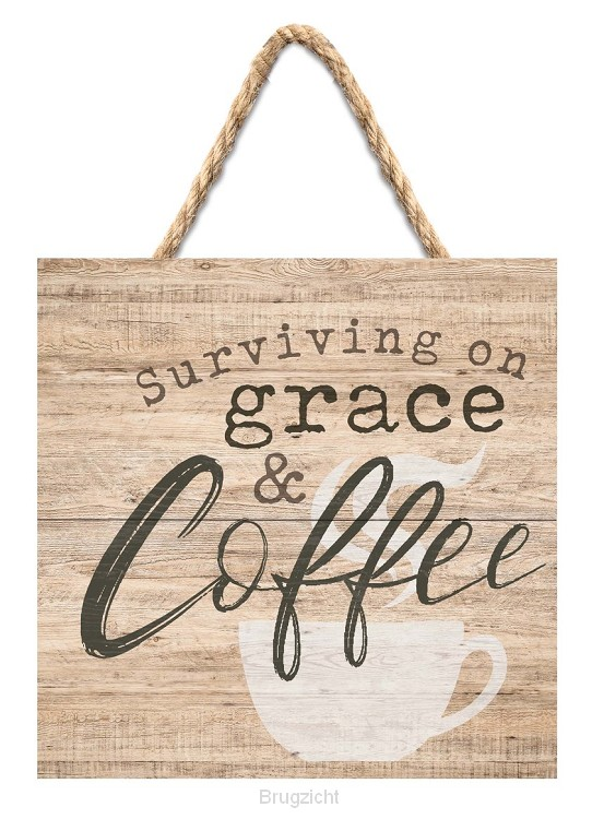 Surviving on grace and coffee