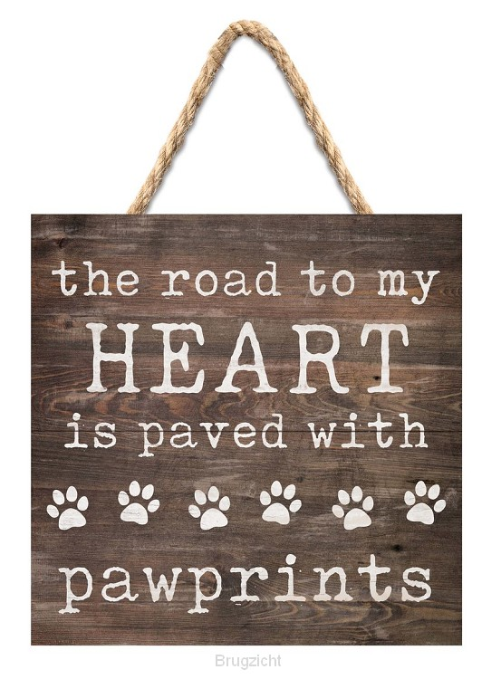 The road to my heart - Pawprints