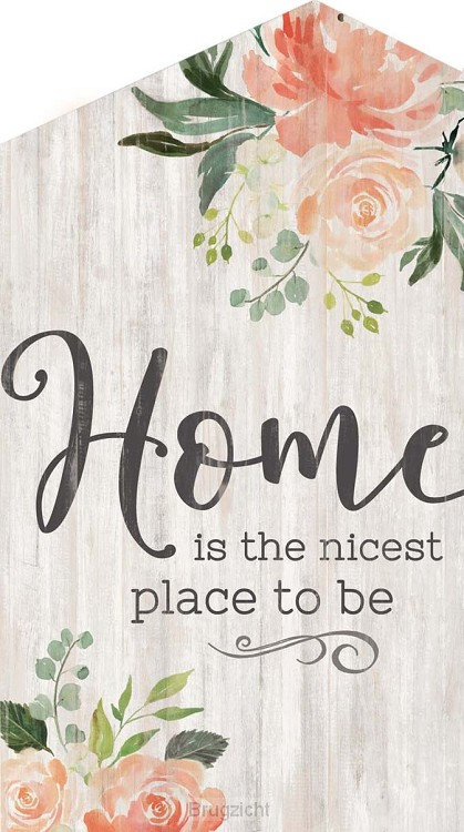 Home is the nicest place to be