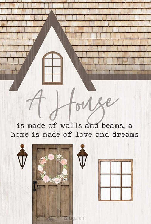 A house - A home