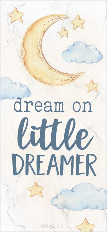 Dream on little dreamer