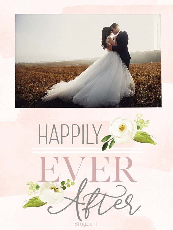 Happlily ever after - Photo 5 x 7,5 cm