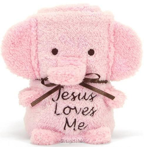 Blanket elephant girl