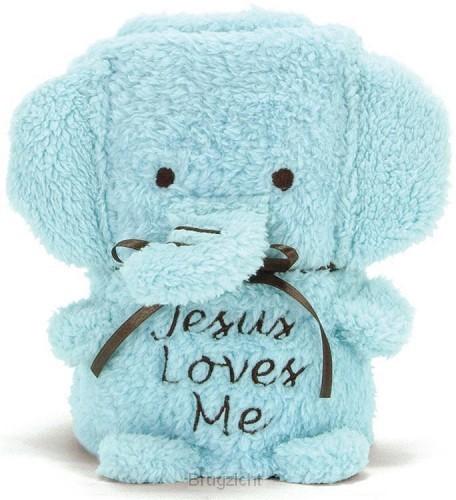Blanket elephant boy