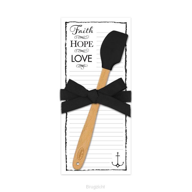 Kitchen companion faith hope love