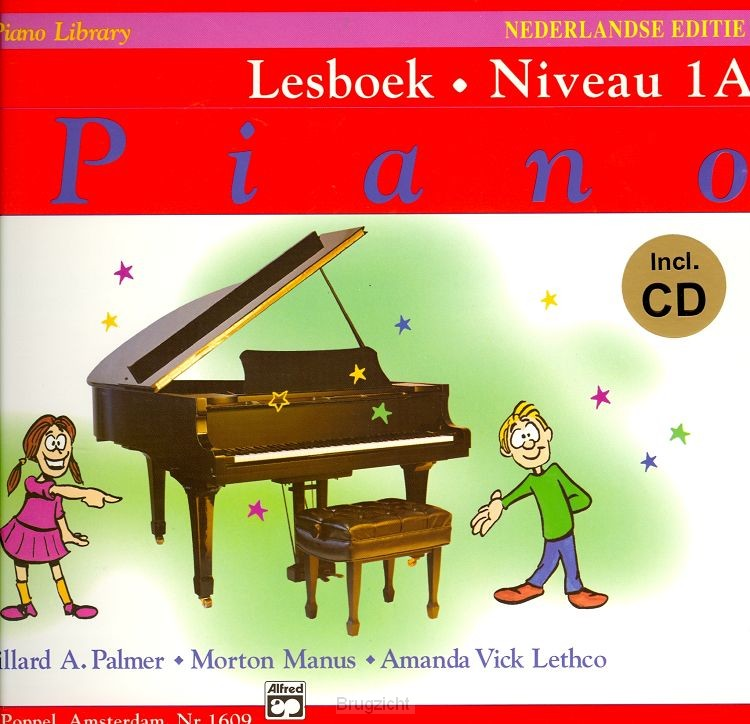 Alfred's Basic Piano Library 1A+CD