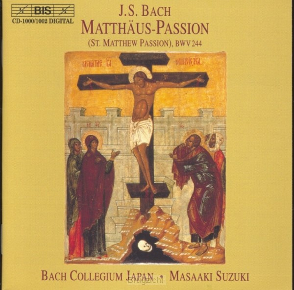 Mattheus Passion (Bach Collegium Japan)