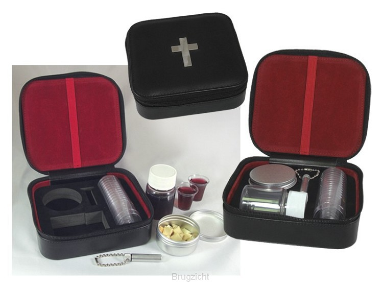 12-Cup Portable Communion Set