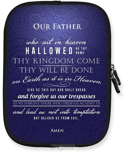 Tablet case our father large