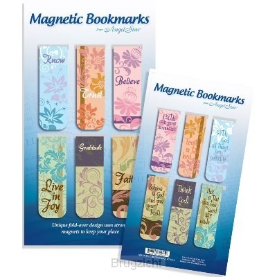 Magnetic bookmark know trust believe set