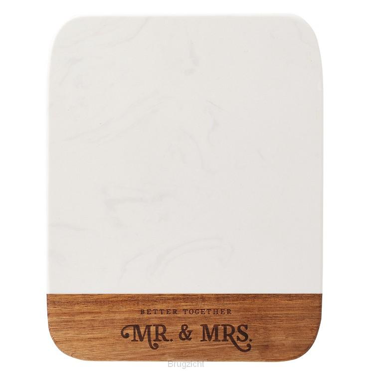 Mr & Mrs - Better Together - 20 x 25 cm