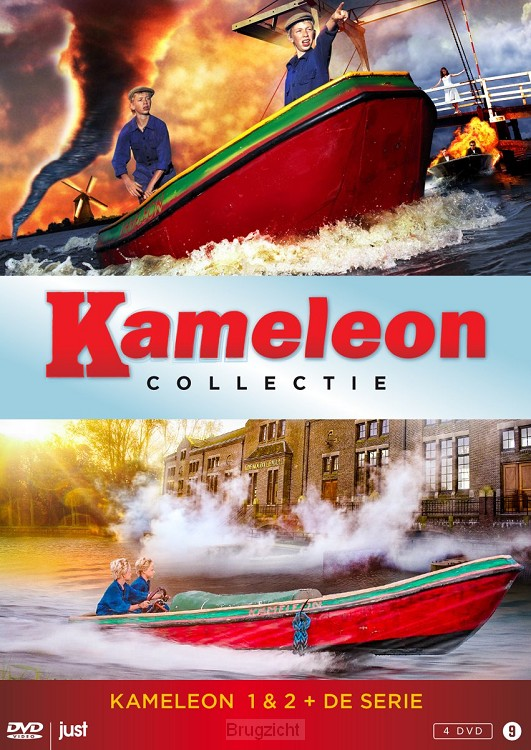 DVD Kameleon Box (films+serie)