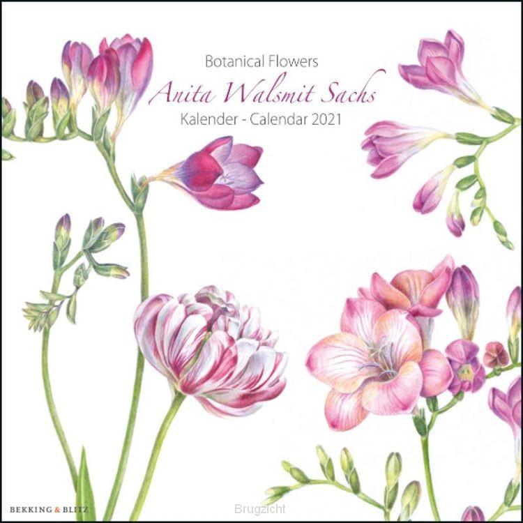 Botanical Flowers, Anita Walsmit Sachs m