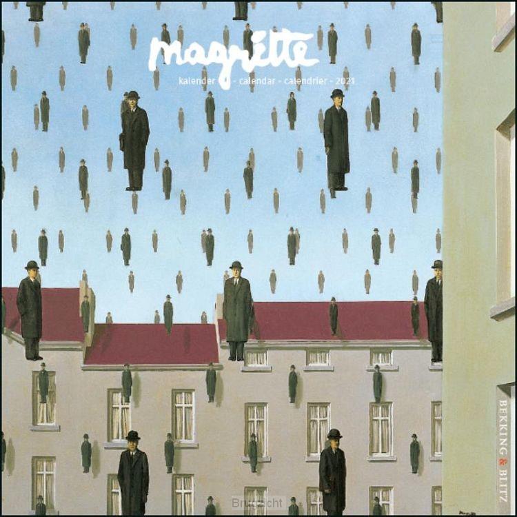 Magritte mini maandkalender 2021