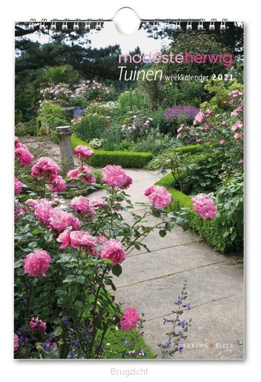 Tuinen, Modeste Herwig weekkalender 2021