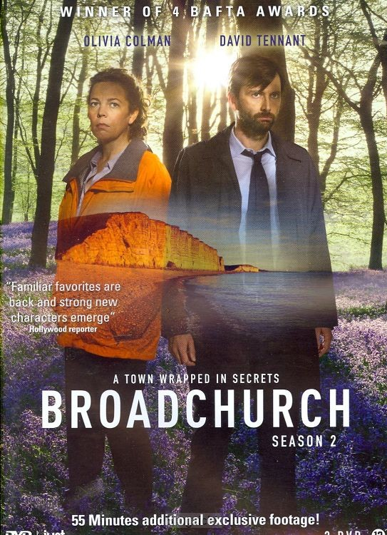 DVD Broadchurch - serie 2