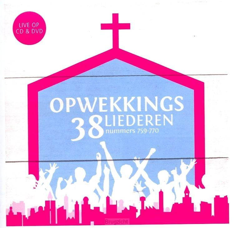 Opwekkingsliederen vol.38 CD+ DVD