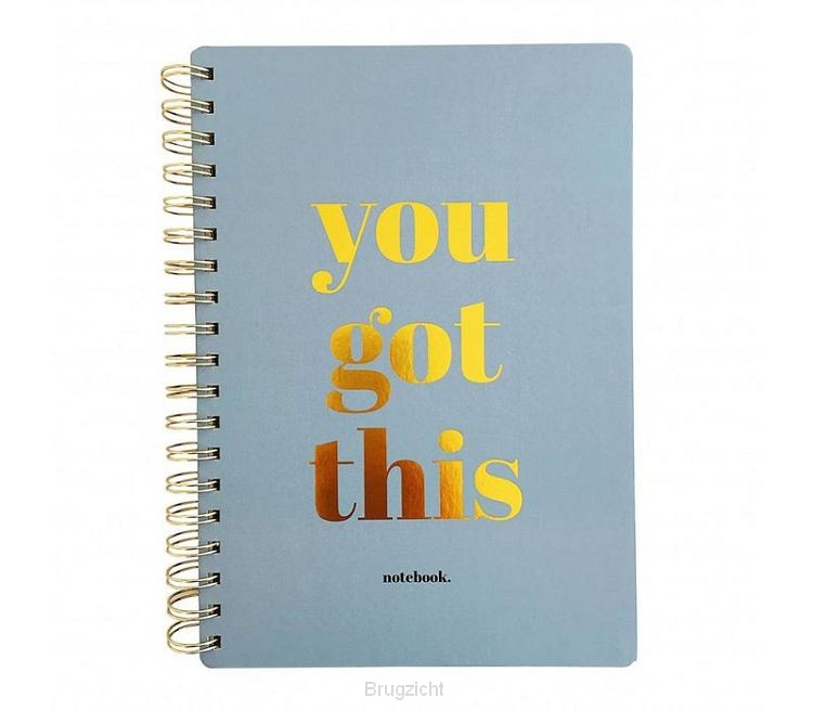 Notebook You got this