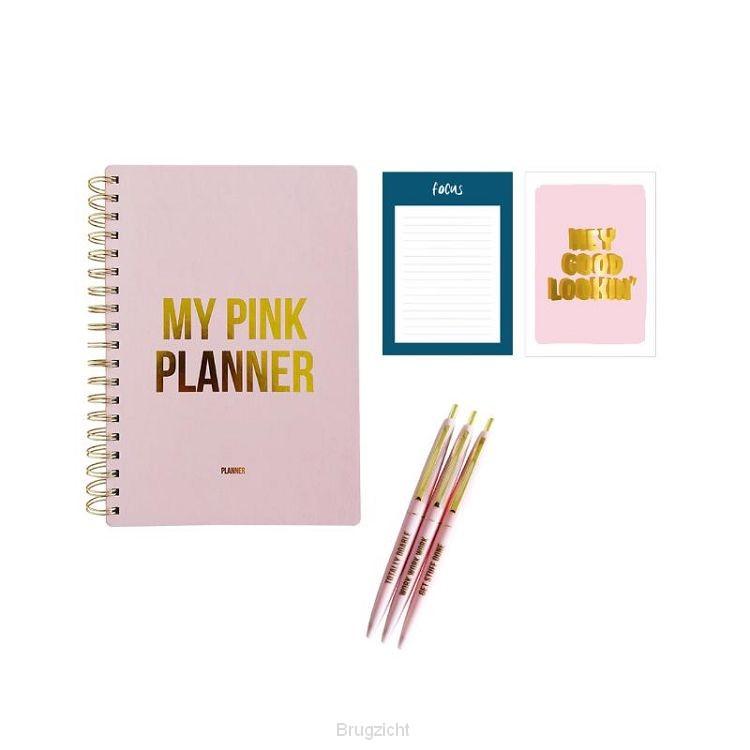 Gift set Pink planner