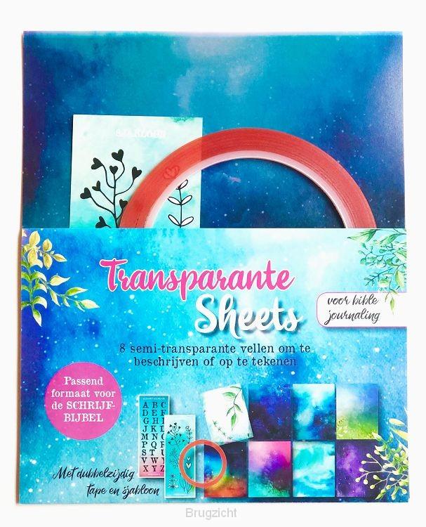 Transparante sheets v d schrijfbijbel
