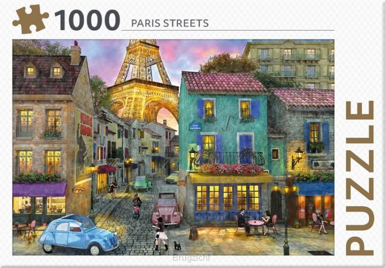 Paris Streets - puzzel 1000 st