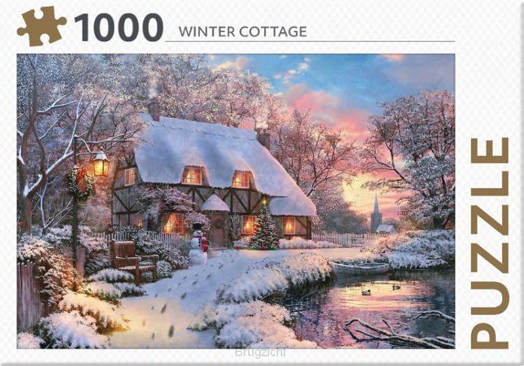 Winter Cottage - puzzel 1000 st