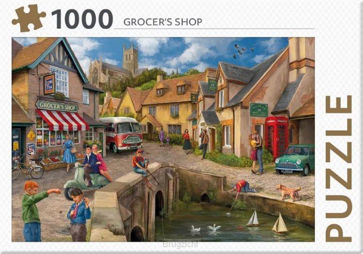 Grocers Shop - puzzel 1000 st