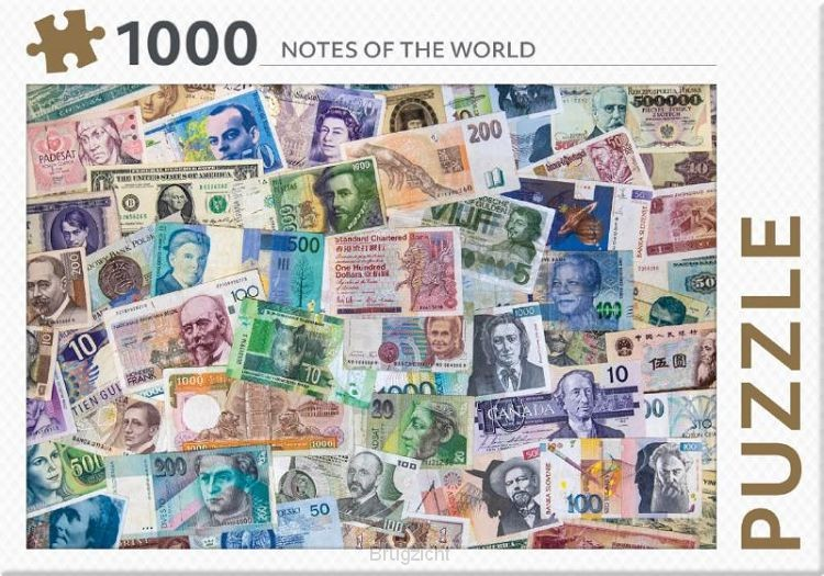Notes of the world - puzzel 1000 st
