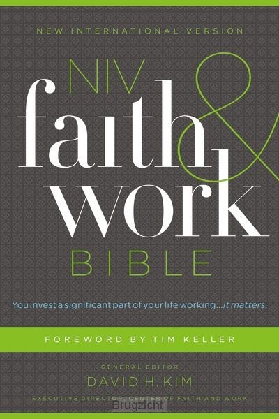 Faith and Work Bible, Hardcover