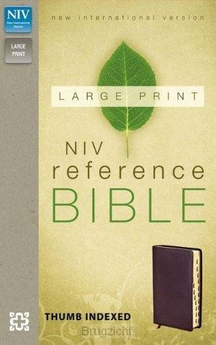 Reference Bible Large Print