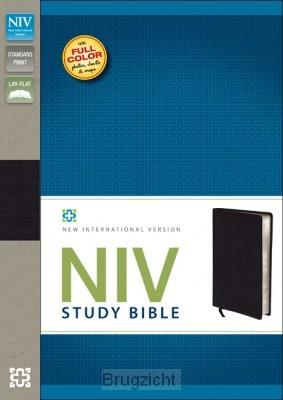 Study Bible, blcak bonded leather